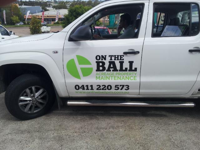 Door Ute Car Spot Graphics Vinyl wrap near me Brisbane