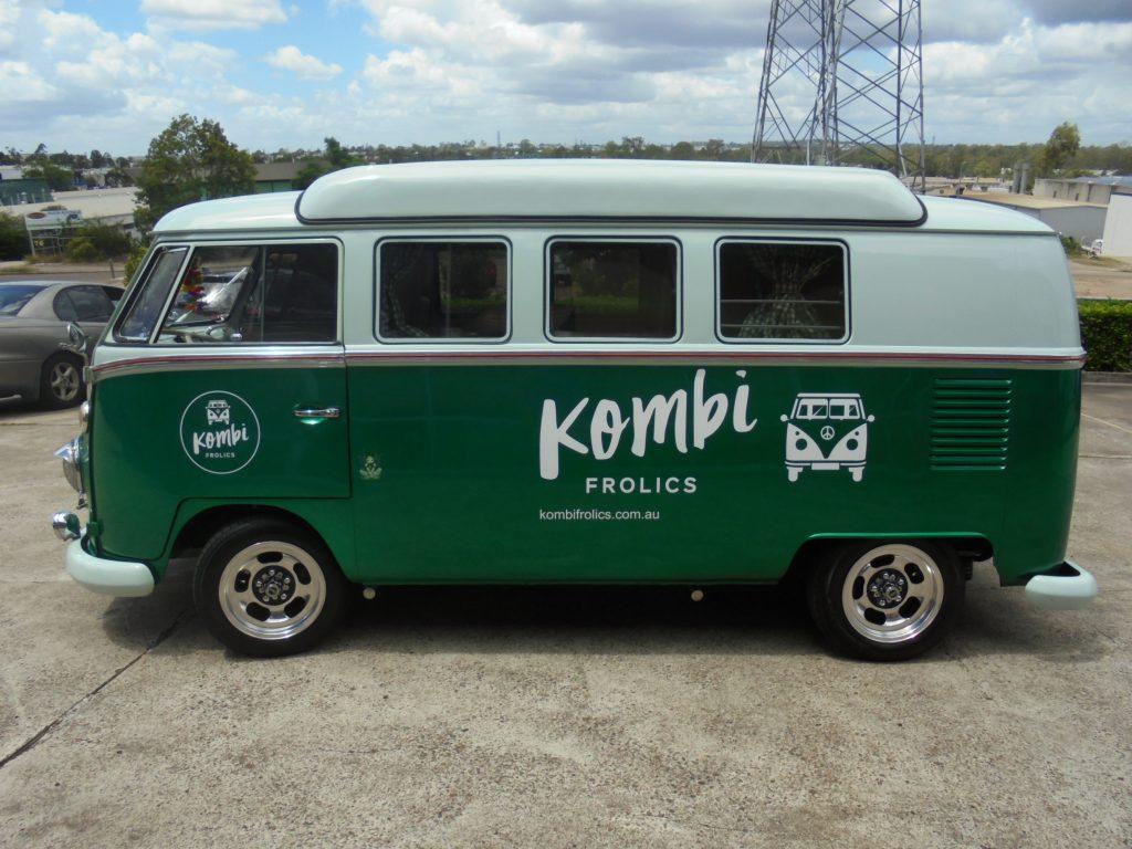 KOMBI full Wrap Colour Change Van