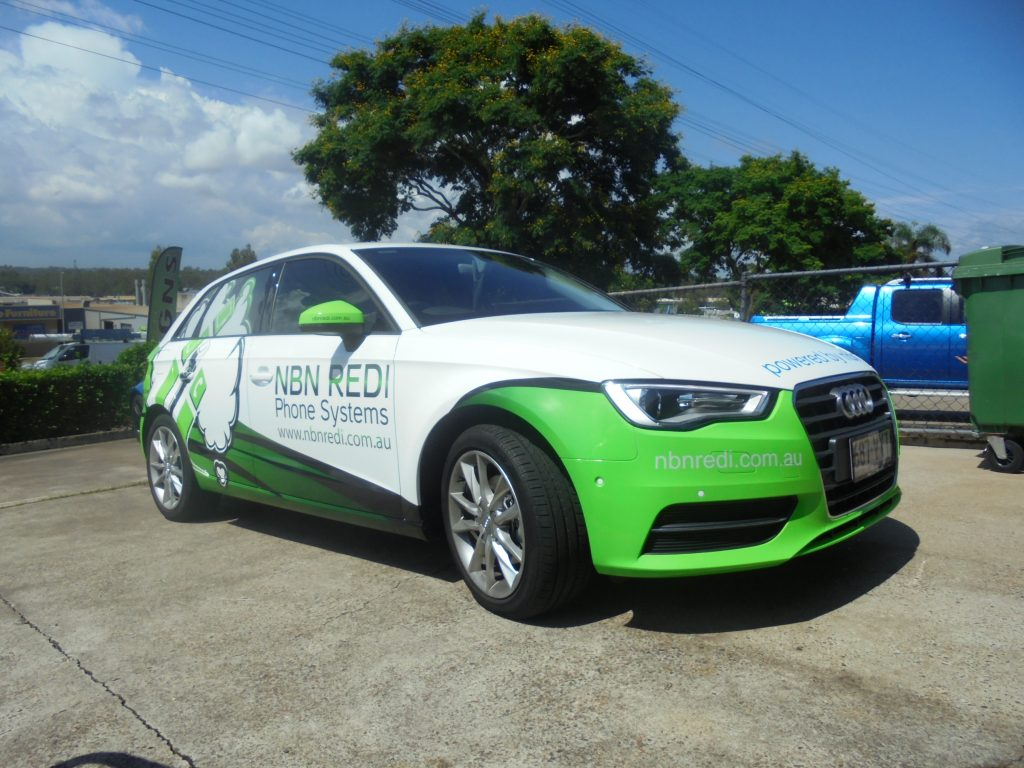 Vehicle: Car Vinyl Wrap for Advertising Brisbane