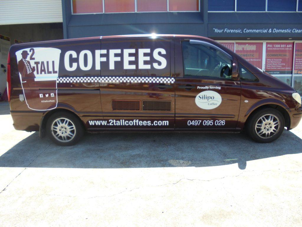 Van Wrap Advertising Brisbane
