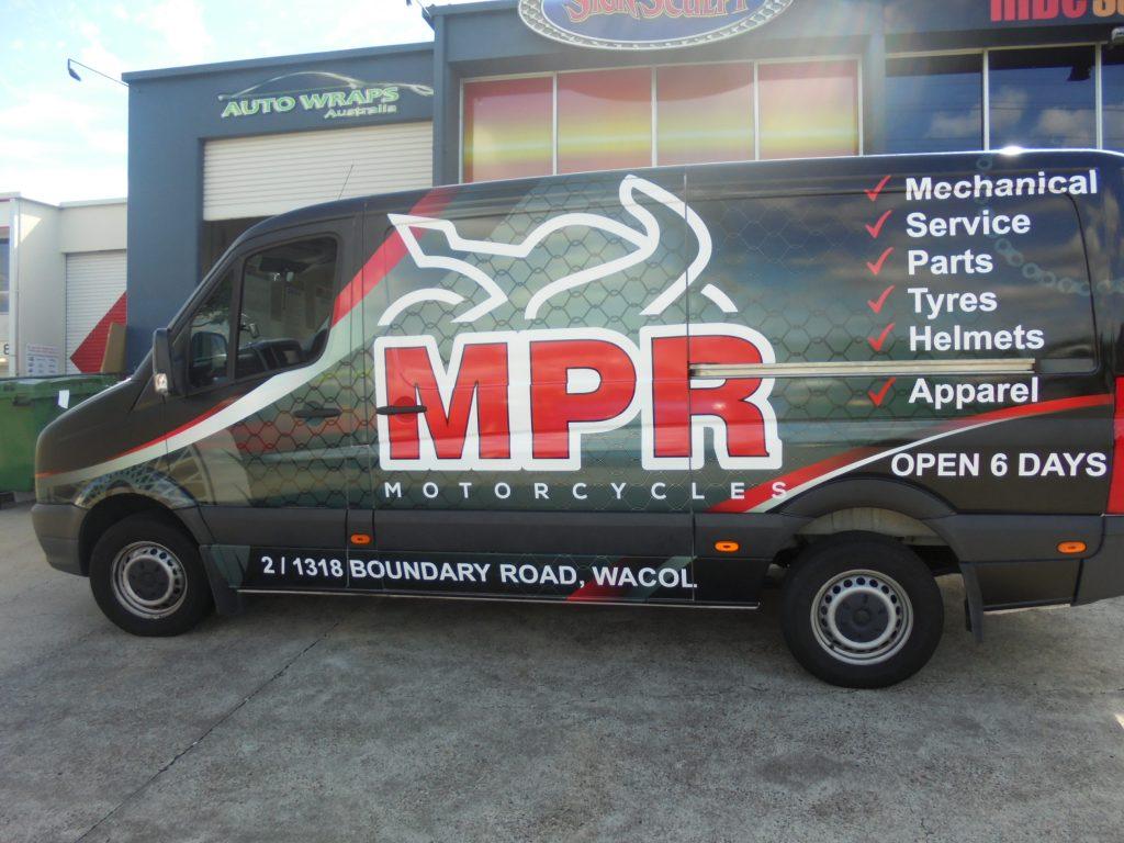 Vehicle: Van Full Wrap Brisbane