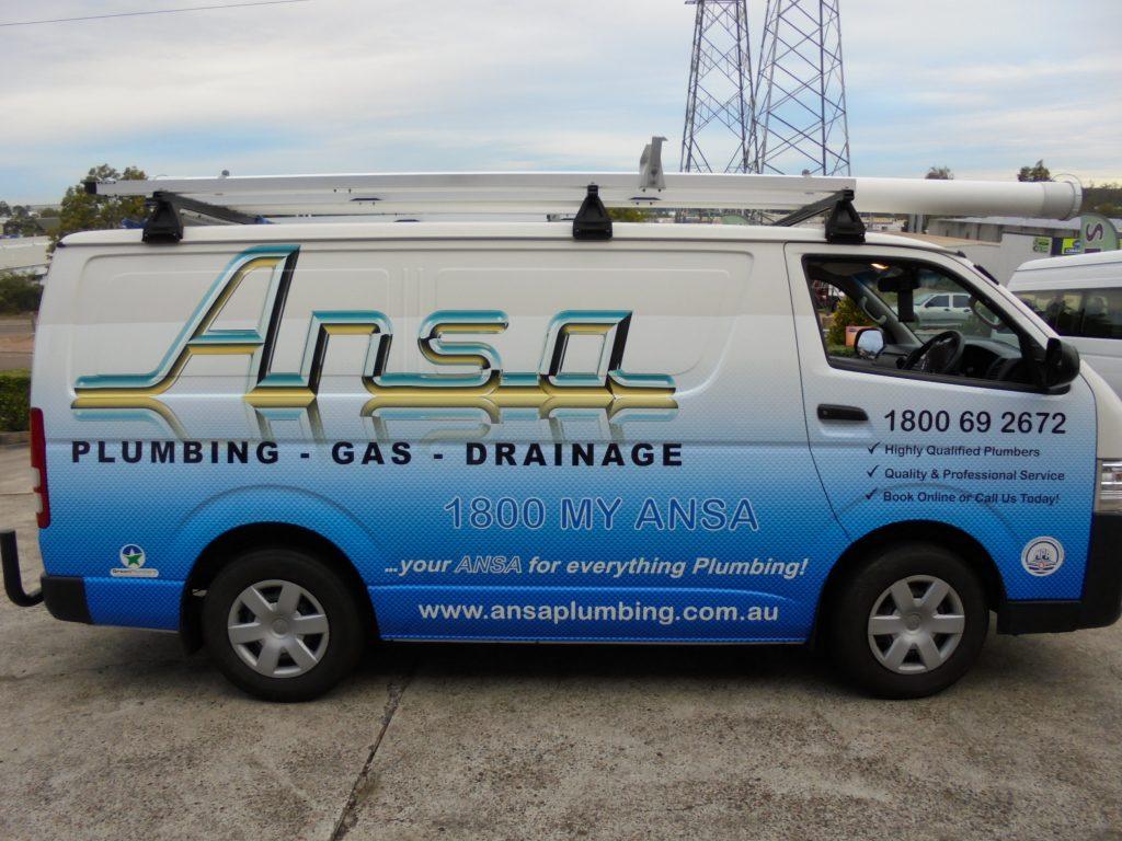 Van Car Vinyl Wrapping Brisbane (full wrap)