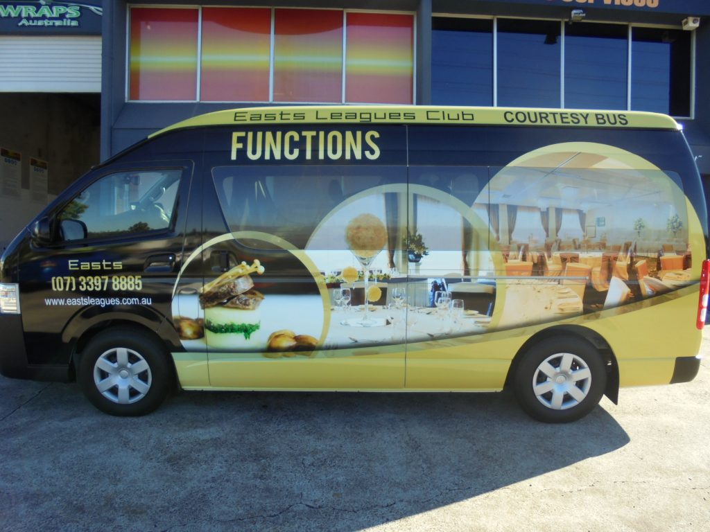 Van Vinyl Wrapping Service Design and Install Brisbane