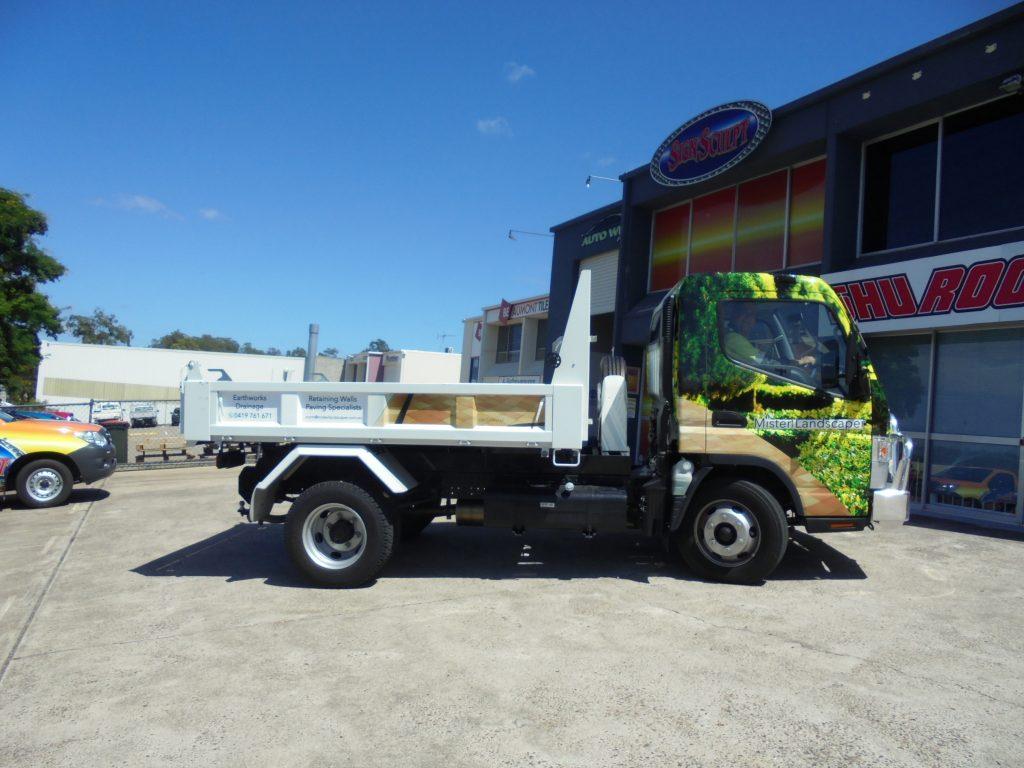 Vehicle : Truck Cabin Vinyl Wrap Brisbane