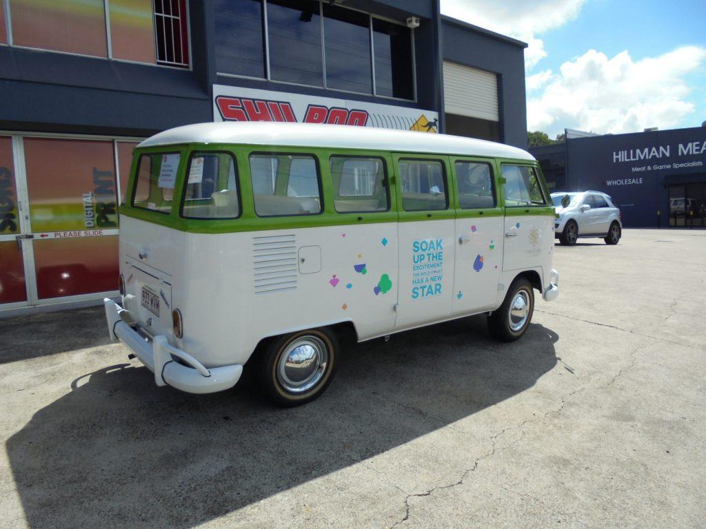 Vehicle Van Vinyl Wrap Brisbane , for advertising