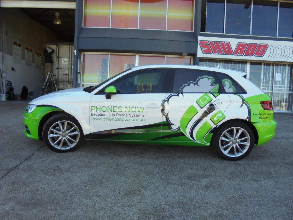 Vehicle Car Vinyl Wrap Brisbane