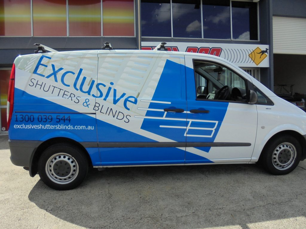Van car Vinyl Wrapping Service Design and Install Brisbane