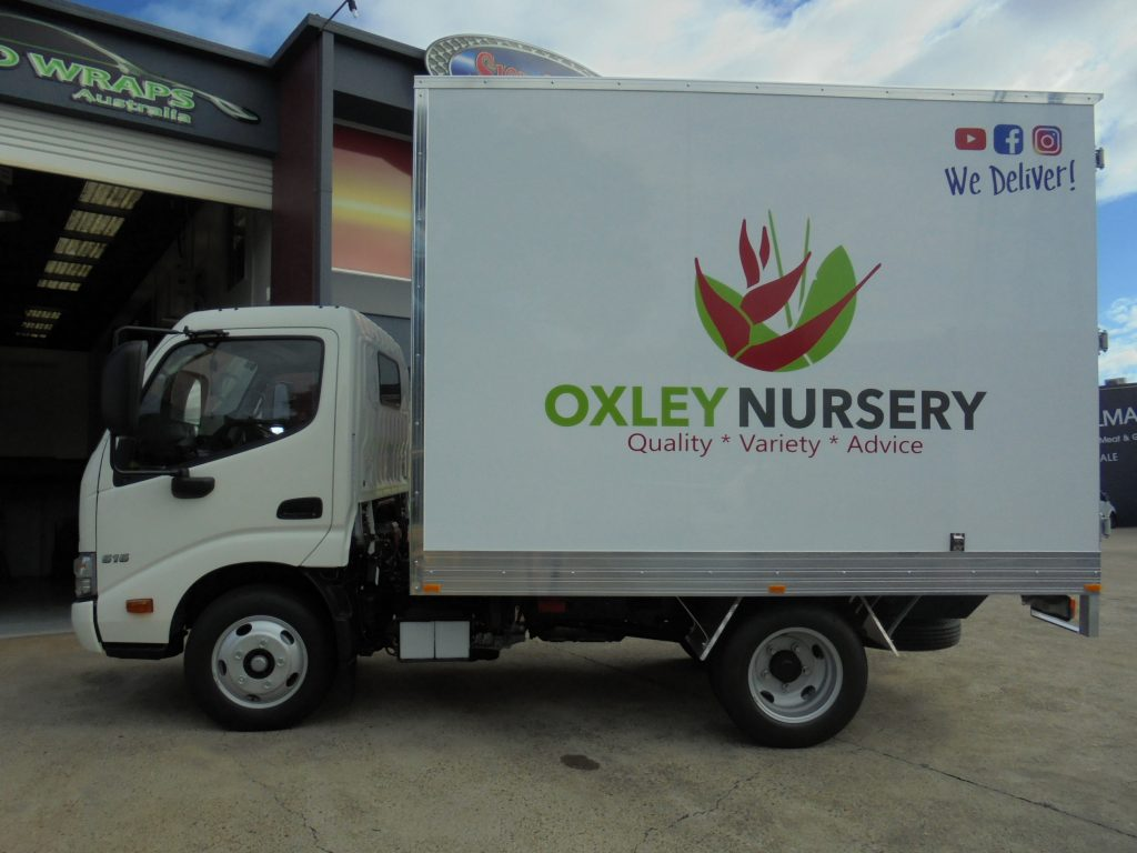 Truck Advertising Fleet Graphics Brisbane Near me