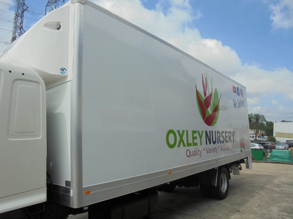 Vinyl Wrap Truck Business Delivery Brisbane