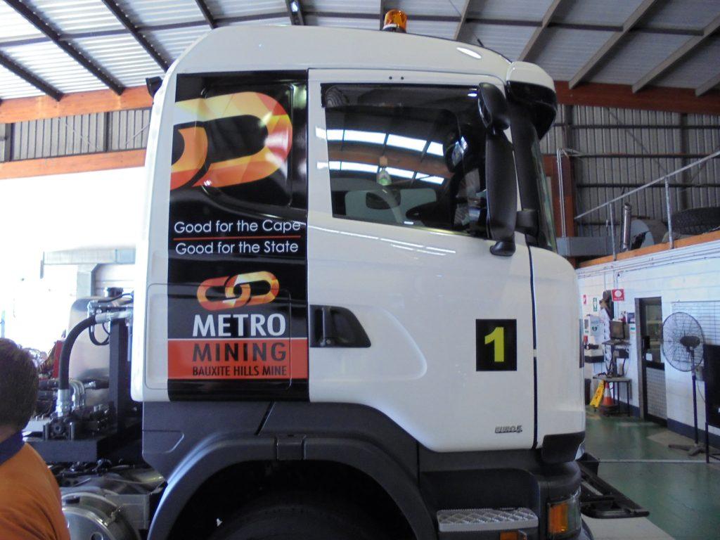 Truck Cabin Design Wrap Print Brisbane