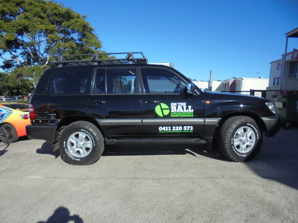 4x4 Vinyl Wrap sign Graphics Phone number Brisbane Near me