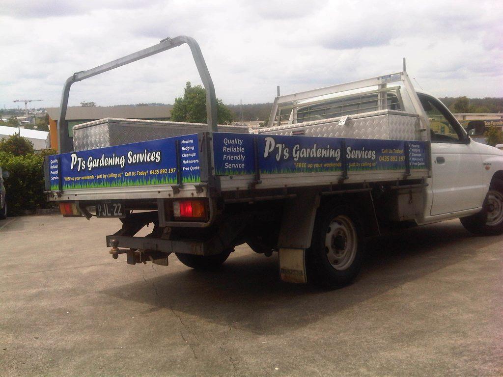 Ute Vehicle Wrapping Brisbane