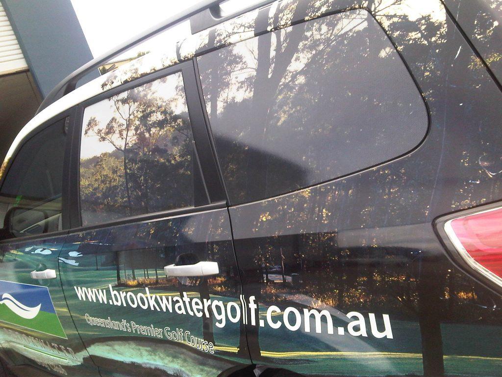 Car Wrap text pictures Brisbane