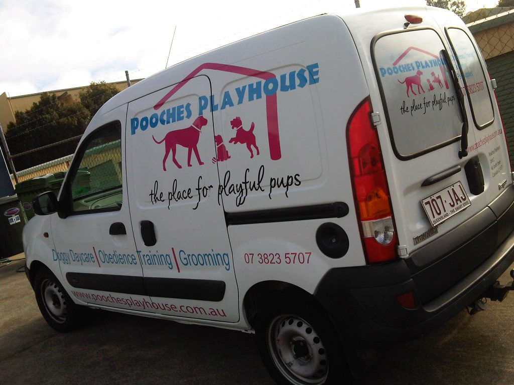 Van Sign Graphics and Business Logo Brisbane and Ipswich