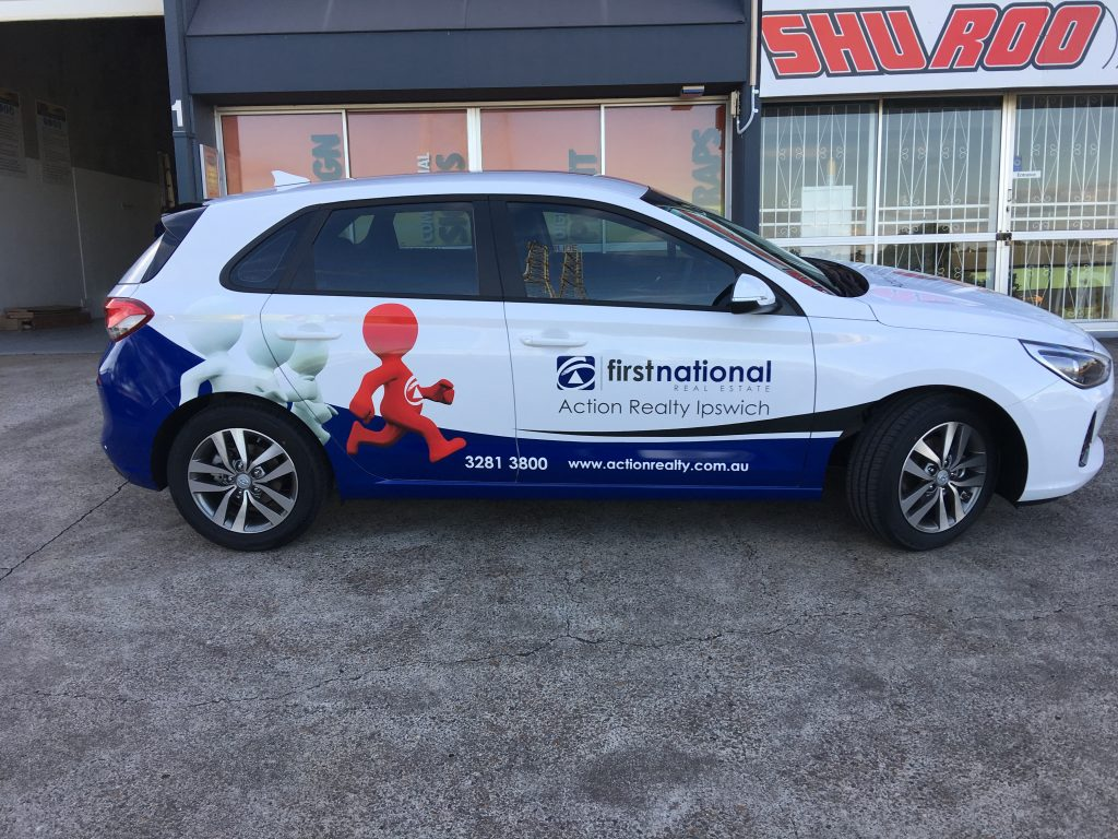 Vehicle: Commercial Car Vinyl Wrapping