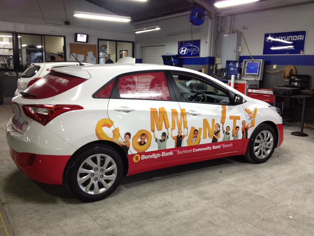 Car Fully Wrap and Window graphics Brisbane