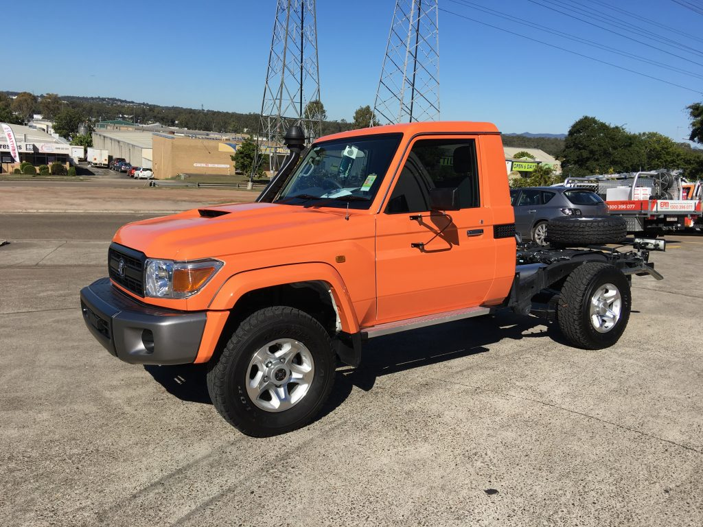 Colour Change Full Wrap Car Orange