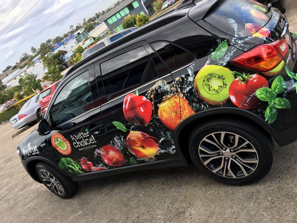 Vehicle: Car Full Vinyl Wrap Brisbane