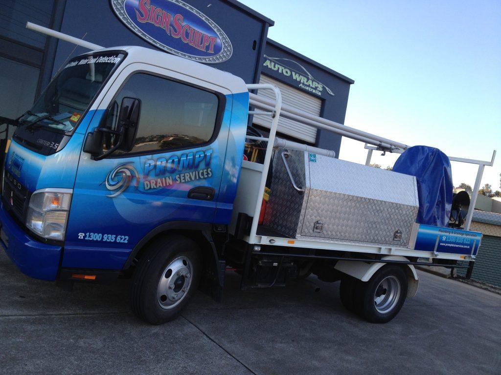 Truck Vinyl Wrap Brisbane