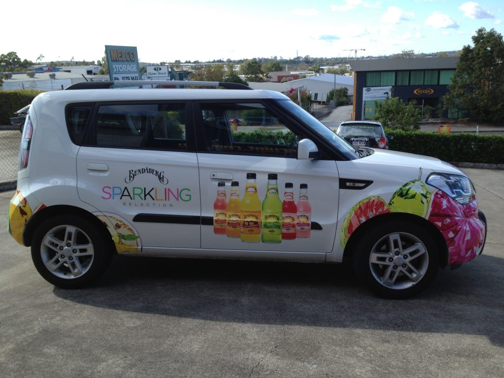 Design Car Wrapping Advertising Kia Brisbane