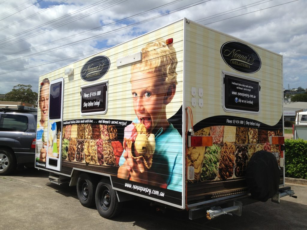 Food Truck Vinyl Full Wrap