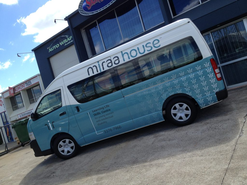 Van Car Full Wrap Vinyl Wrapping Quality Brisbane