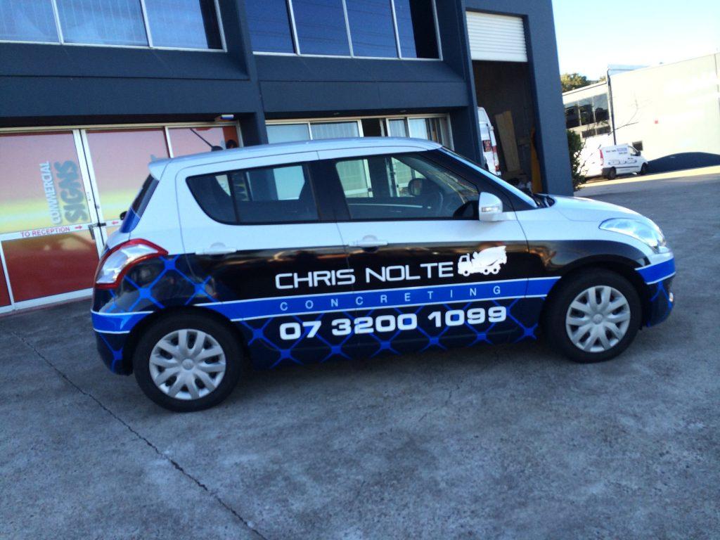 Car Commercial Wrap Brisbane