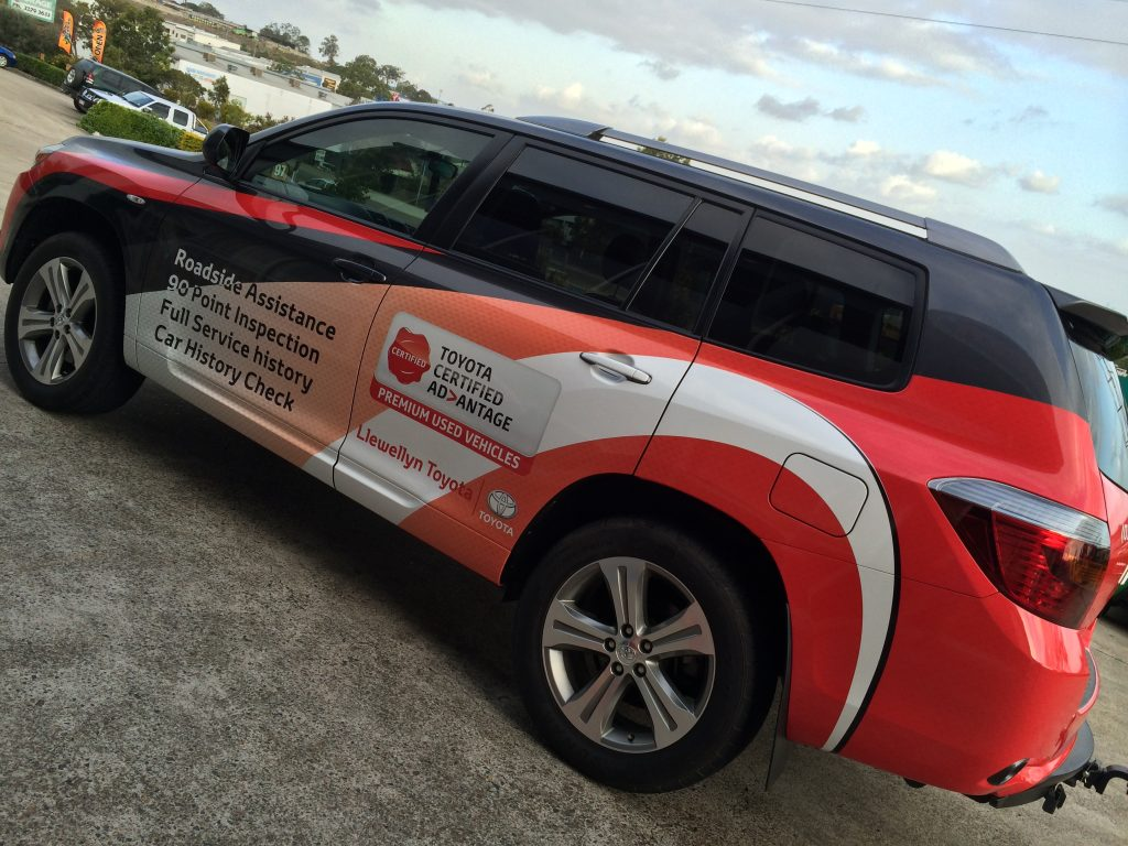 Fleet Wraps and car graphics in Brisbane