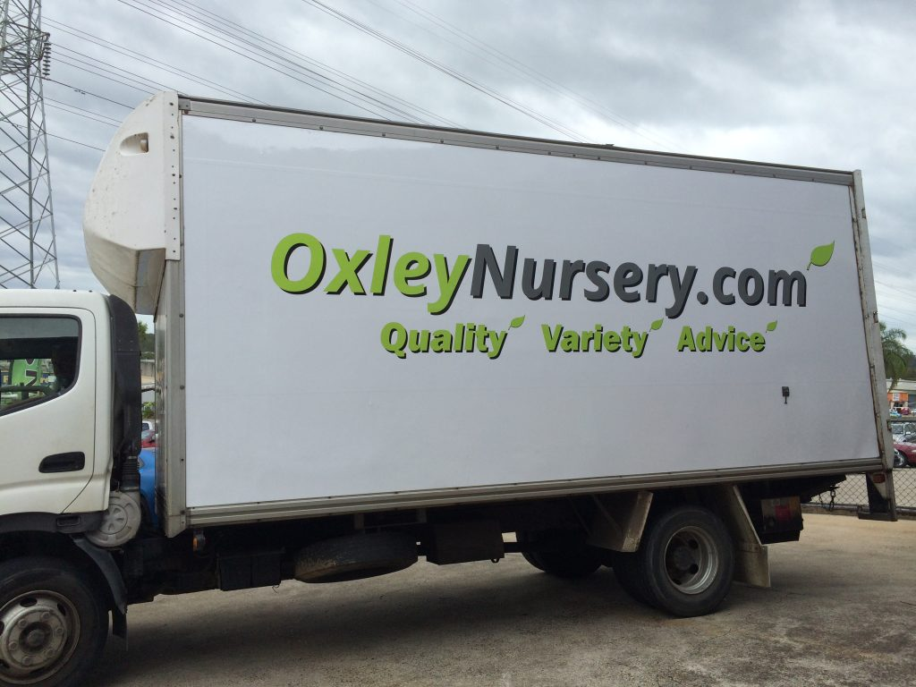 Vinyl Wrap Truck Business Delivery
