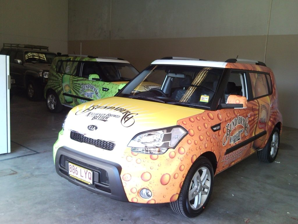 Full Wrap Fleet Graphics Bundaberg Kia Brisbane