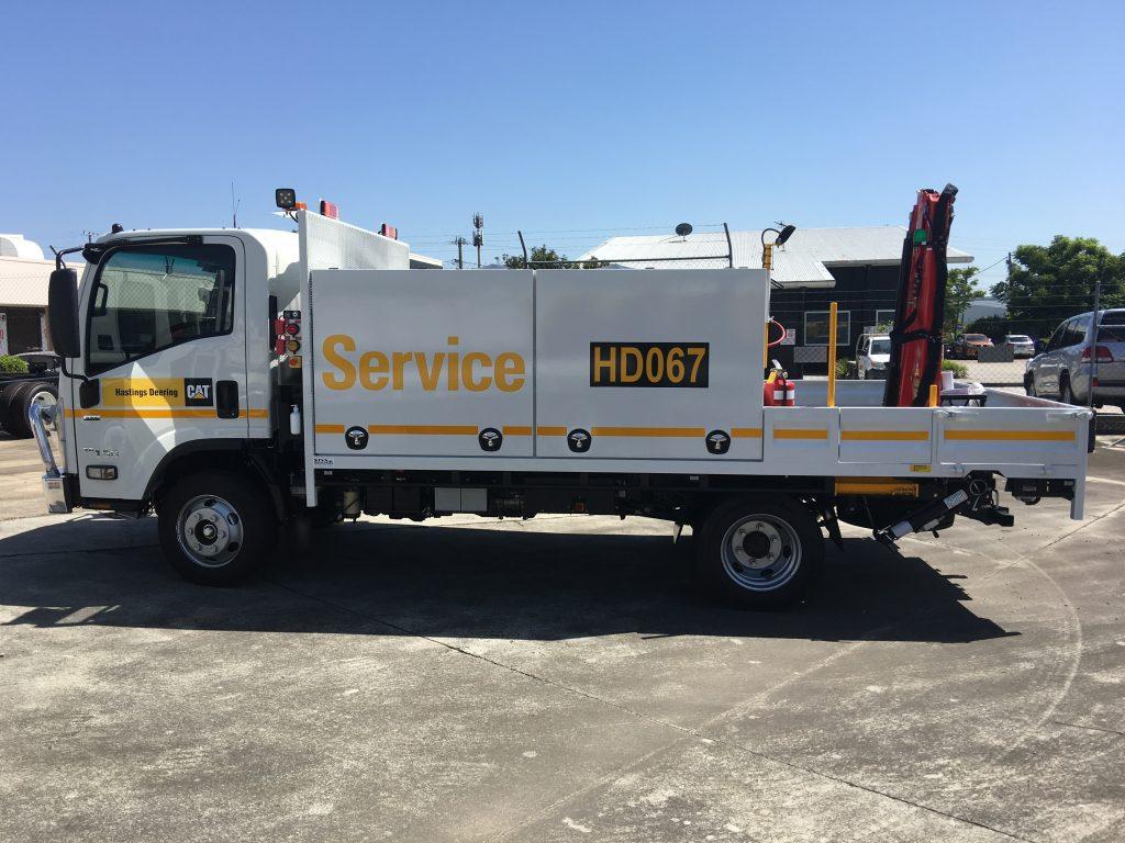 Truck Fleet Graphics Decals Industrial Rego