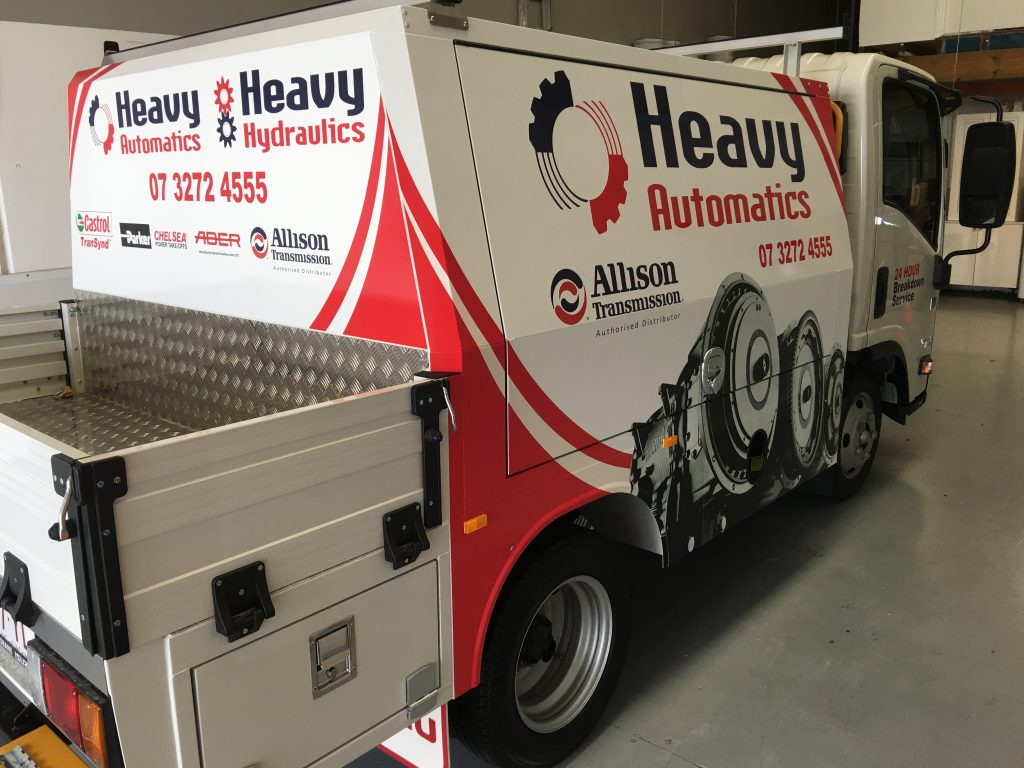 Truck and Fleet Wraps and graphics