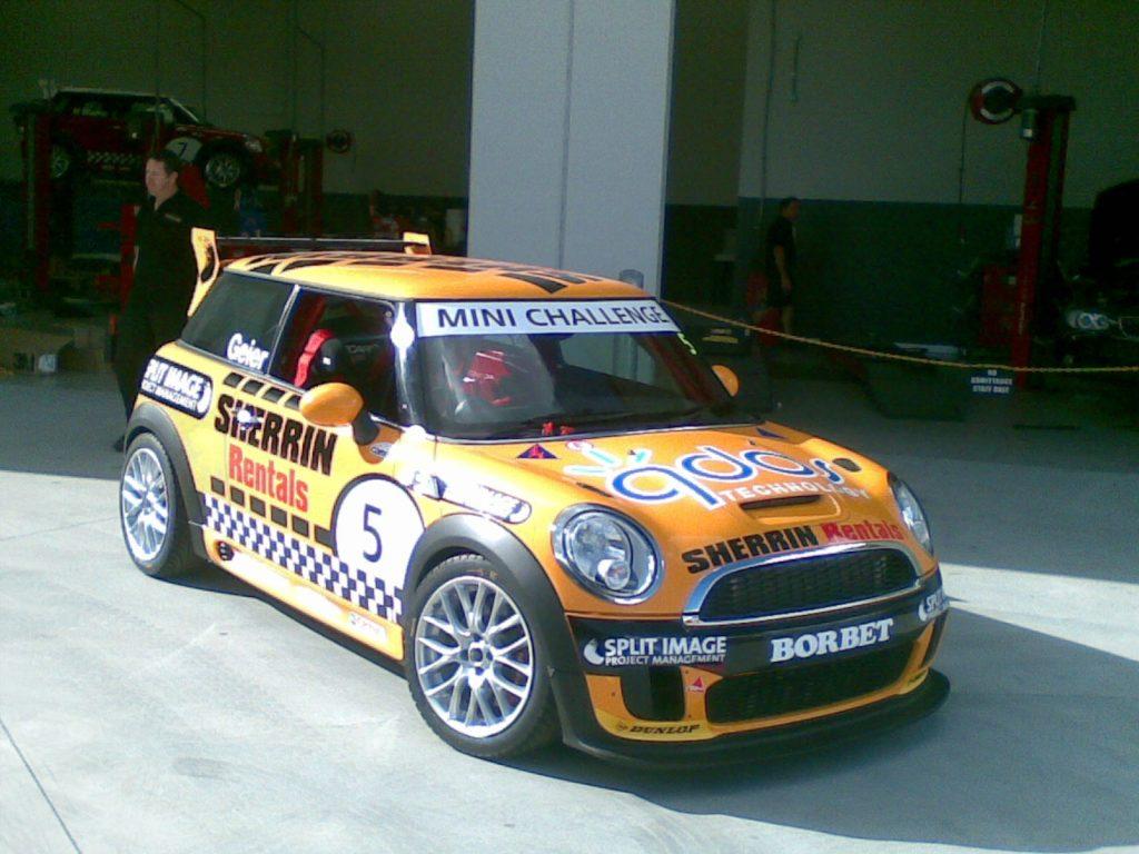 Mini Decals Racing Logo Sponsor