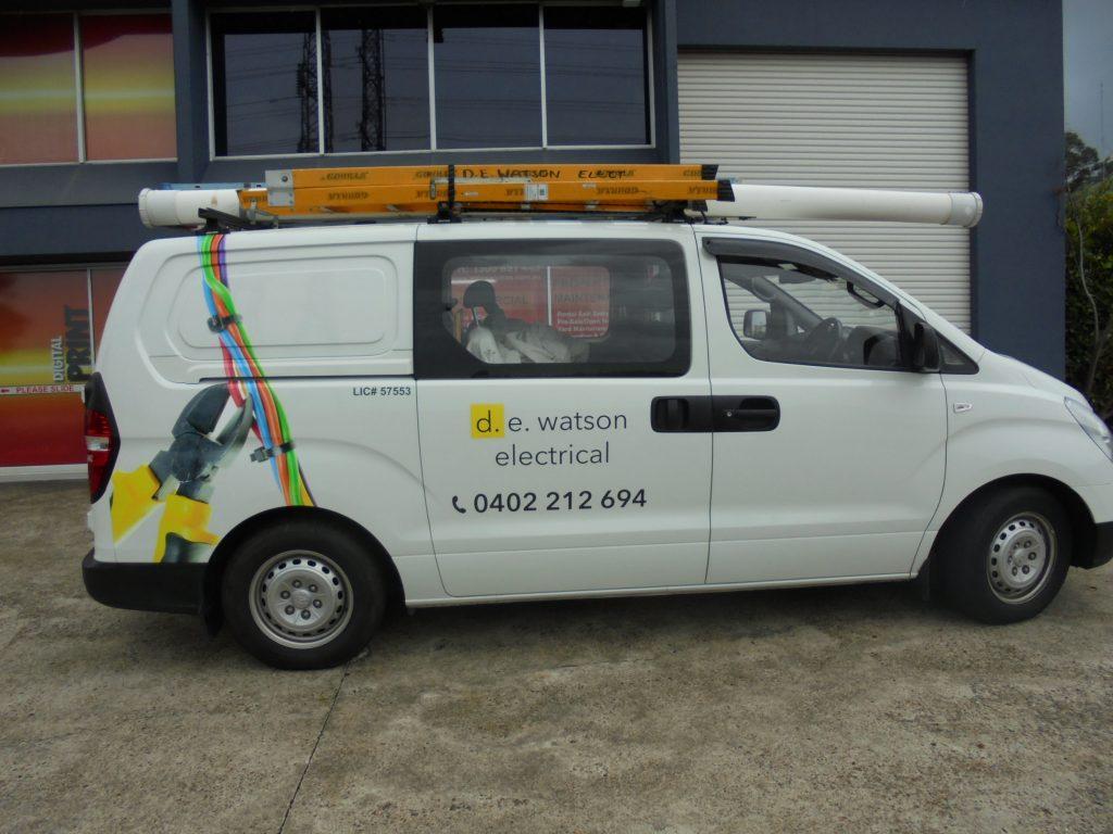 Work Van Graphics Design Logo