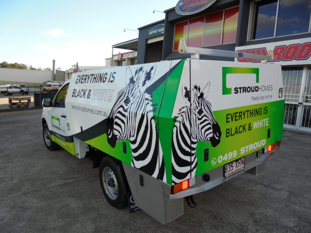 Ute Graphics and Advertising Wrap