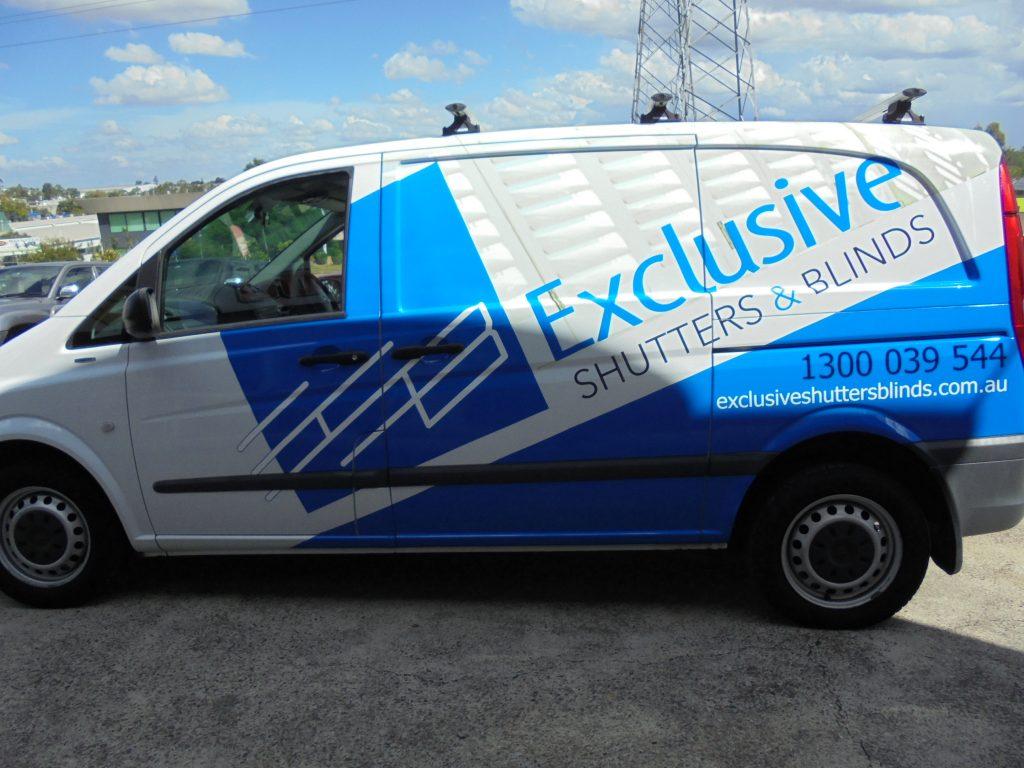 Van Advertising Fleet Graphics Vinyl Wrap