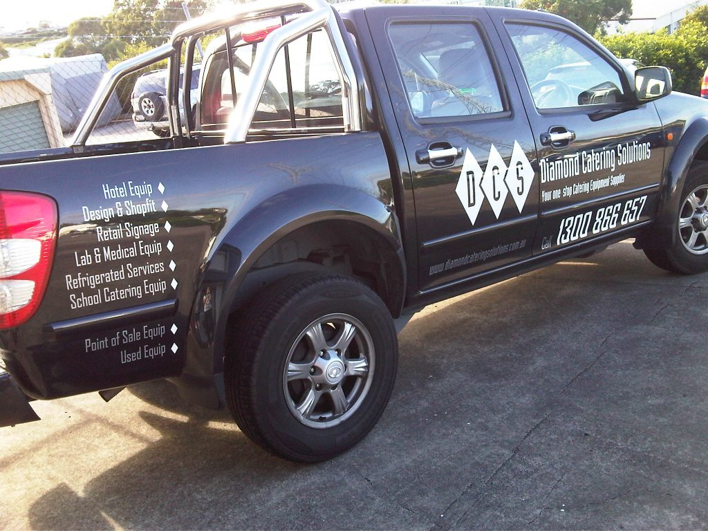 Spot Graphics Trade on your ute Brisbane ipswich