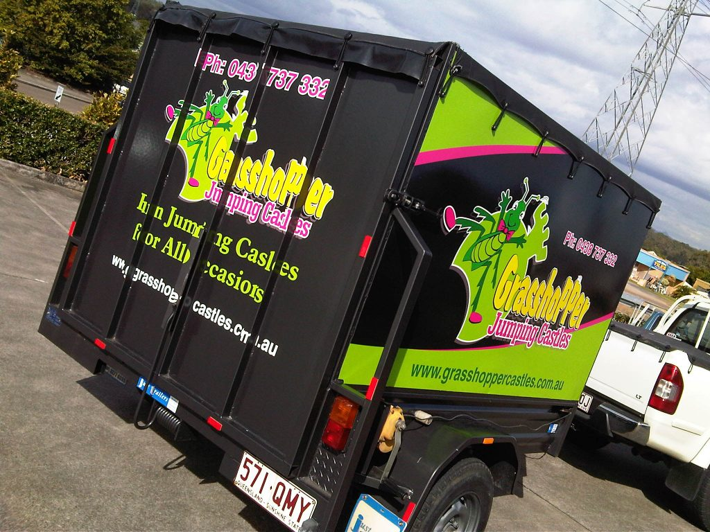 Trailer Advertising Graphics Pictures Logo Decals Wrap