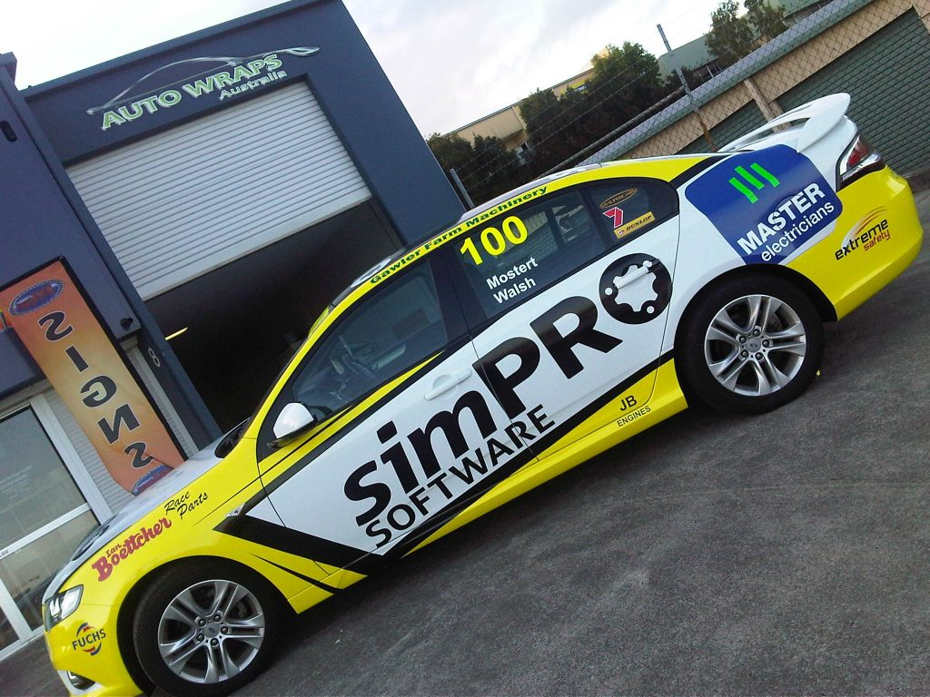 Brisbane Full Wrap Decals Advertisements Logo Sponsoring