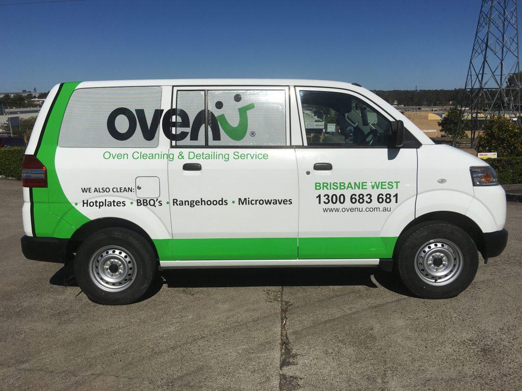 Work Van Graphics and Logo