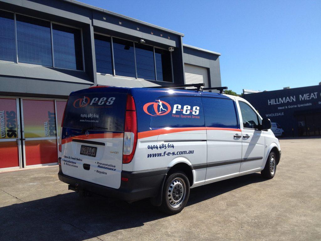 Van Wrap Business Signage Car