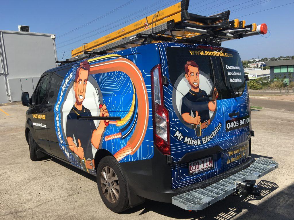 Van Fleet Graphics and Business Logo