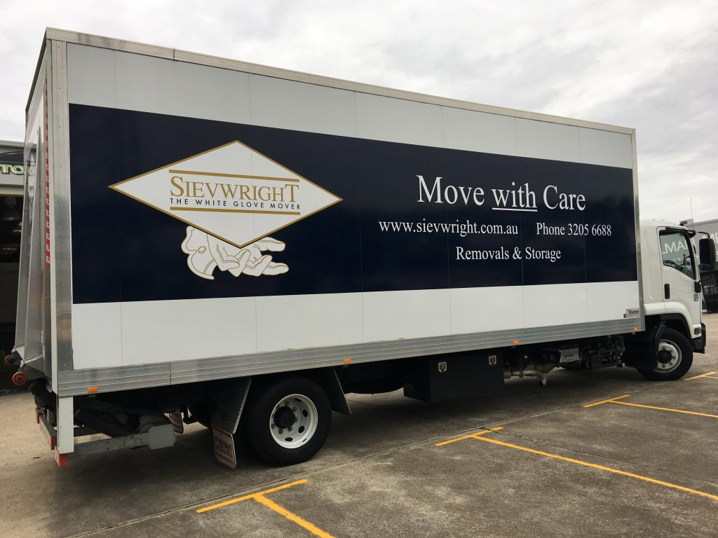Moving Truck Wrap , a Moving billboard!