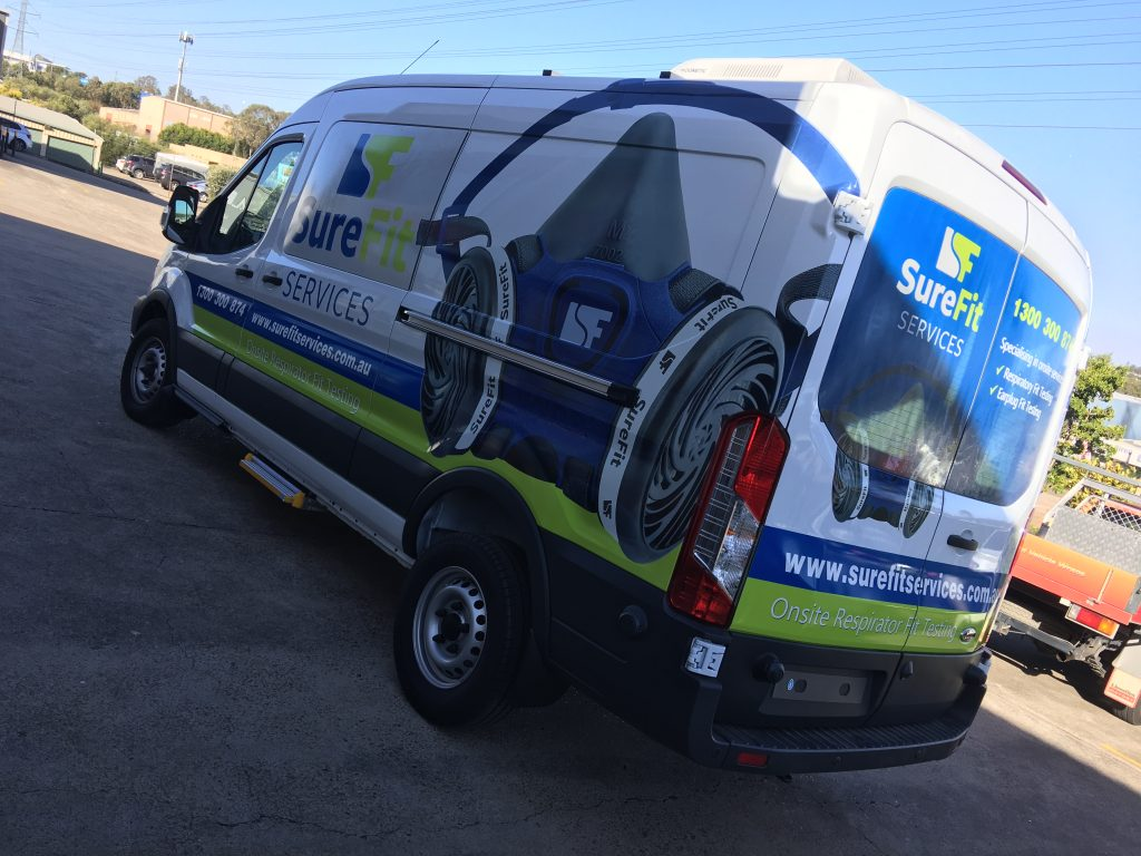 Van Graphics Vinly Wrap Full Effective Advertising