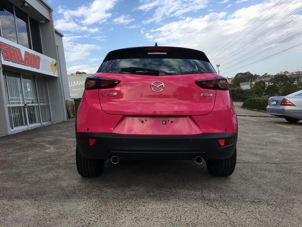 Colour Change Full Car Wrap
