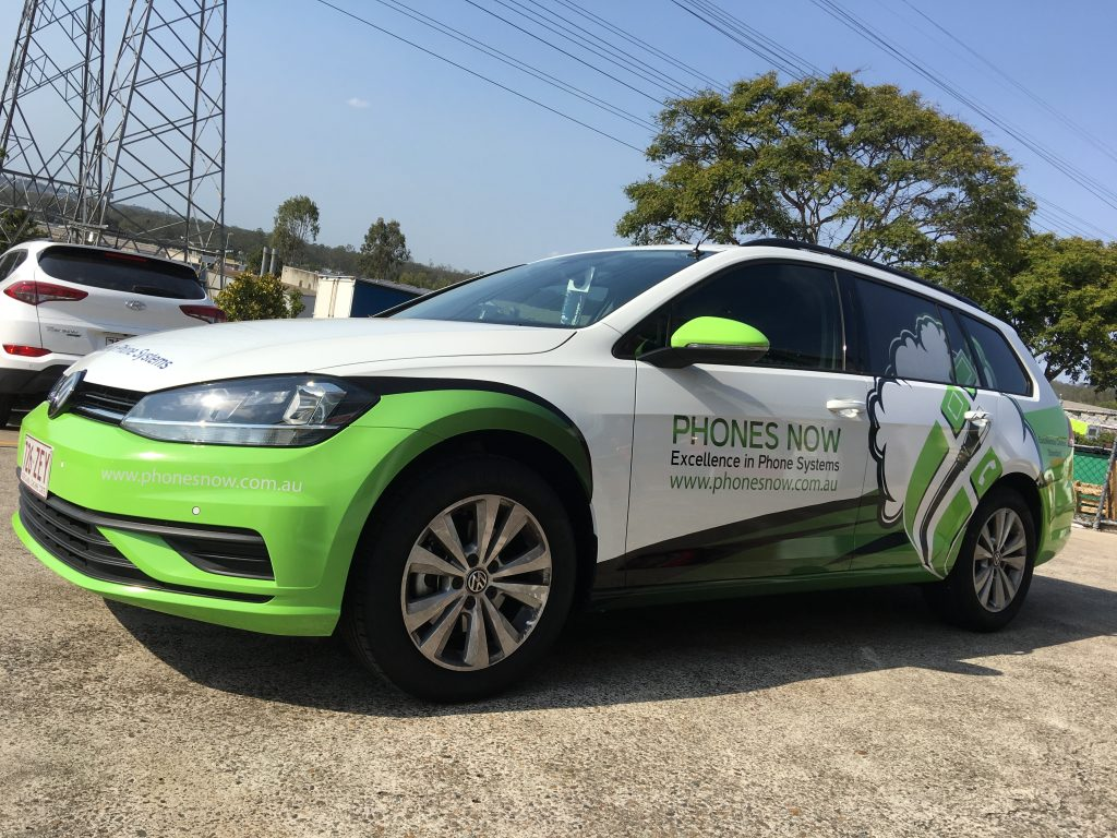 Car Vinyl wrap and Graphics for business advertising.