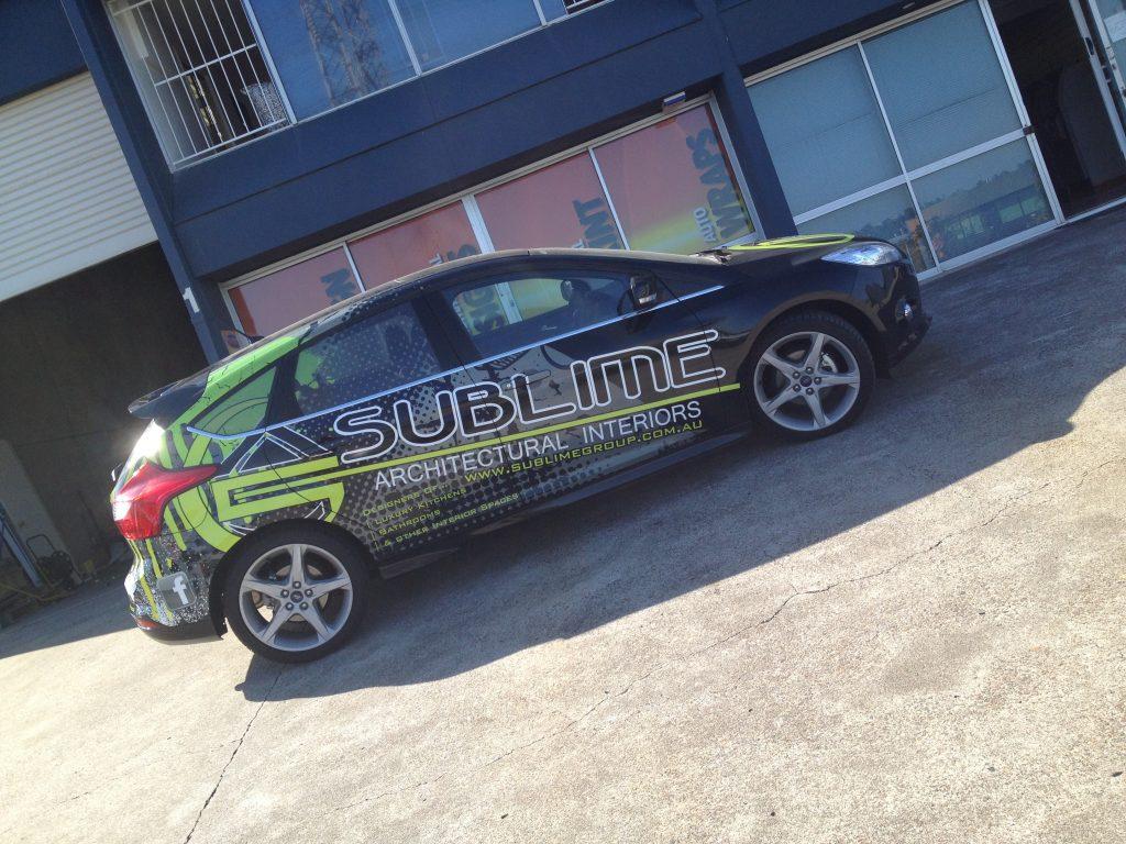 Car Wrap Business Install Design