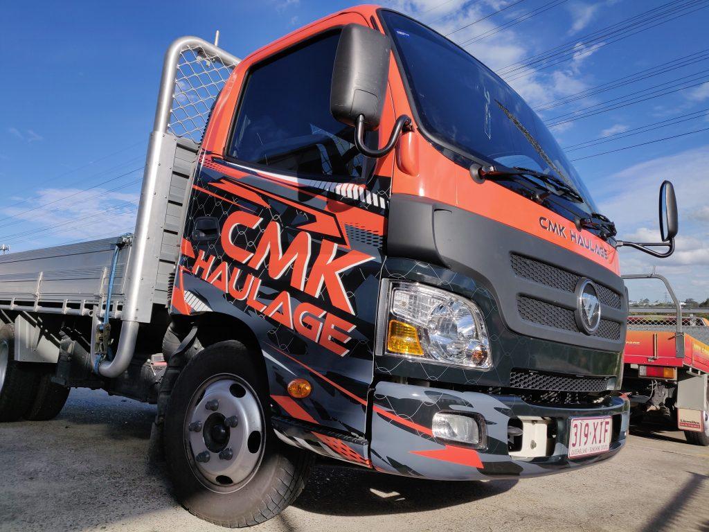Truck Wrap Graphics Fleet Design Vinyl