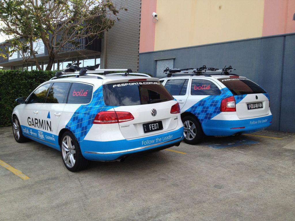 Car Fleet Graphics Wrap Advertising Brisbane
