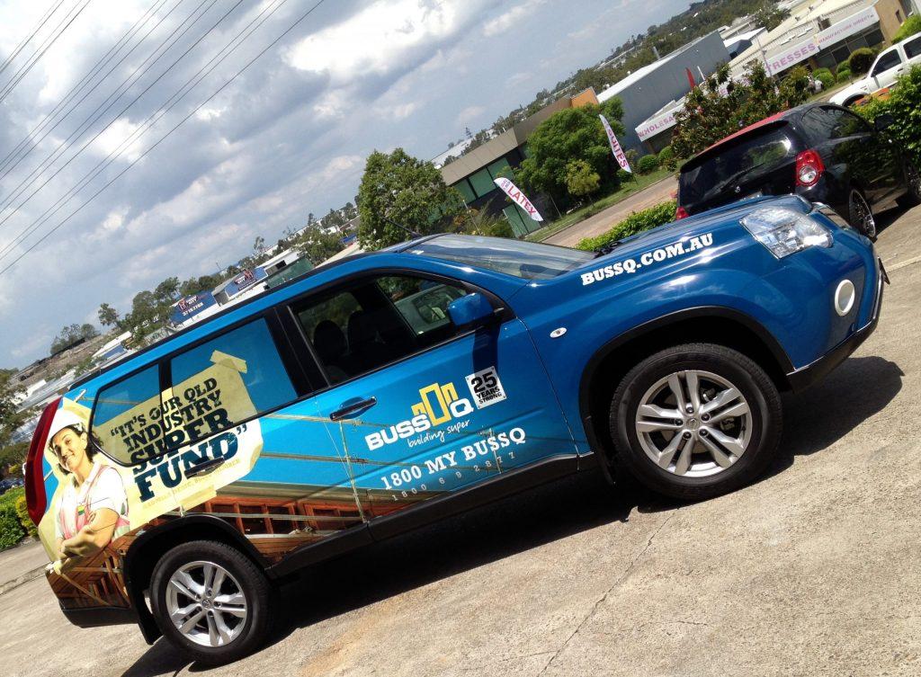Car Vinyl Wrap for advertising Brisbane